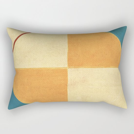 Geometric Thoughts 9 Rectangular Pillow