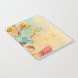 Vintage flowers (watercolor) Notebook
