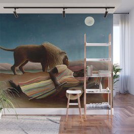 Henri Rousseau - The Sleeping Gipsy Wall Mural