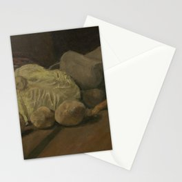 Still Life with Cabbage and Clogs Stationery Cards