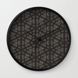 ornament oriental pattern Wall Clock