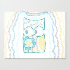 Whimsical Owl 2 Canvas Print
