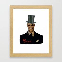 The gentlemen Framed Art Print