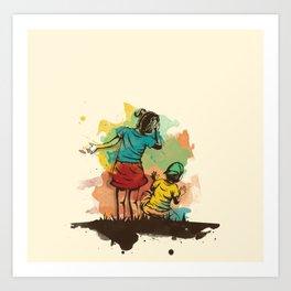Hide & Seek Part 2 Art Print