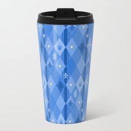 Blue Lily Bear Travel Mug