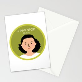 An Inventor like Hedy Lamarr Stationery Cards
