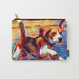 Beach Beagle Carry-All Pouch