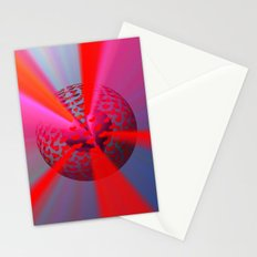 Radiant Love Stationery Cards