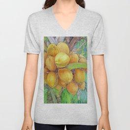 Golden Coconuts Unisex V-Neck
