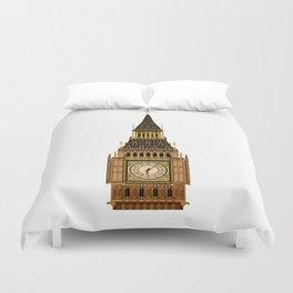 Big Ben Clock Face Duvet Cover