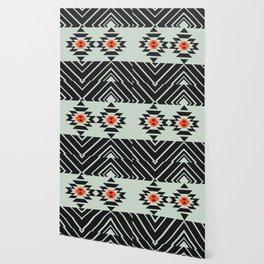 Geometric pair Wallpaper