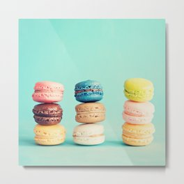 The Three Yummy Towers Metal Print