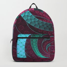 Abstract Bangles of Very Berry Bubblegum Bands Backpack