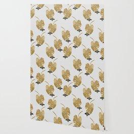Botanical, Butterfly & Monstera Wallpaper