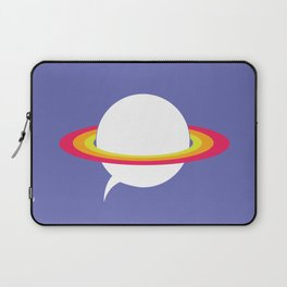 Space talk Laptop Sleeve