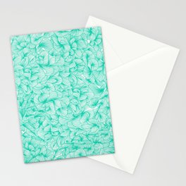 Knee-Deep in Turquoise Ink Stationery Cards