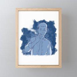 Chilling 2 Framed Mini Art Print