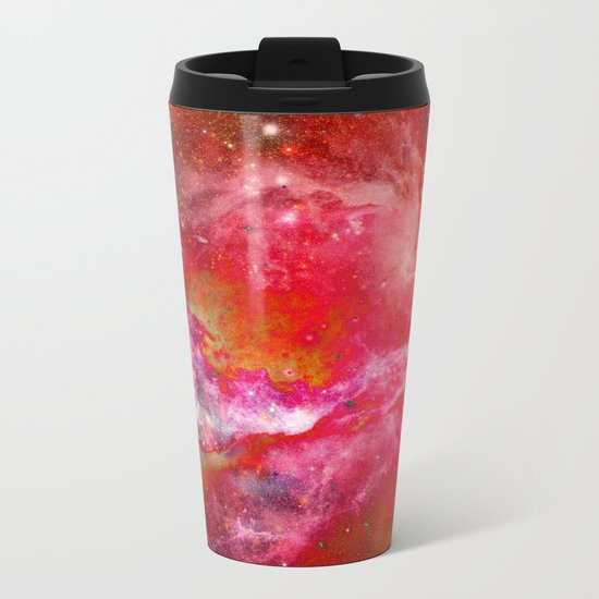Everything is nothing 23 (therefore it was beautiful) Metal Travel Mug