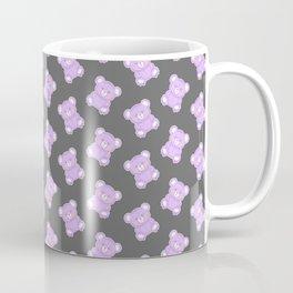 Purple Creepy Bear Coffee Mug