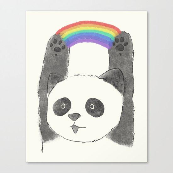 panda beam Canvas Print