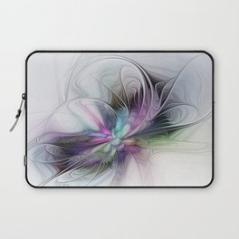 New Life, Abstract Fractals Art Laptop Sleeve