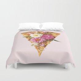 FLORAL PIZZA Duvet Cover