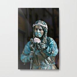 live statue Metal Print