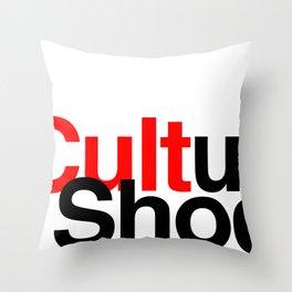CULTure Shock Throw Pillow