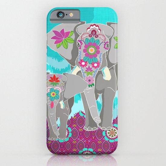Elephant Festival iPhone & iPod Case