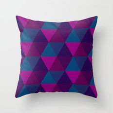 Hexagons 1 Throw Pillow