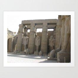 Temple of Luxor, no. 4 Art Print