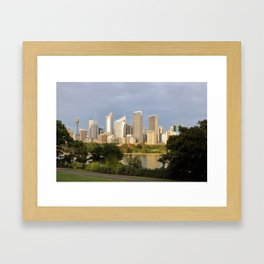 Eastern Sydney Skyline Framed Art Print