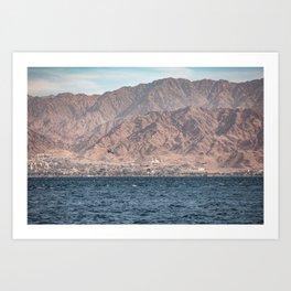 Port of Aqaba Art Print