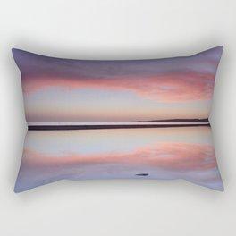 """Purple....."" Tarifa beach. Rectangular Pillow"