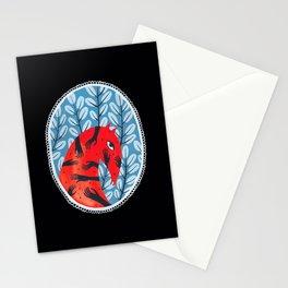 Smug red horse 2. Stationery Cards