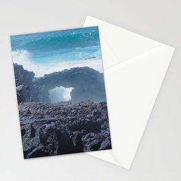 Atlantic Waves at El Golfo, Lanzarote Stationery Cards