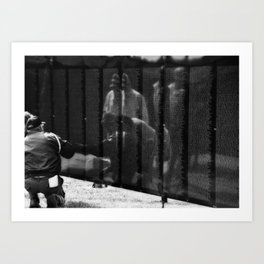 Looking For A Brother Art Print