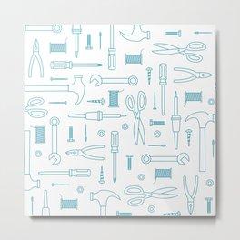 Tool Bag Metal Print