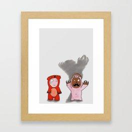 Scare Bear-Dreamers Series#2 Framed Art Print