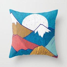 The Crosshatch Sky Throw Pillow