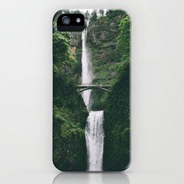 Multnomah Falls III iPhone Case