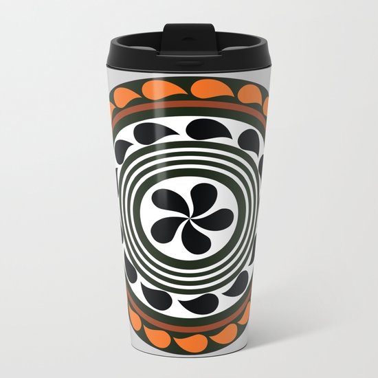 mandala 7 Metal Travel Mug