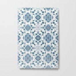 Azulejo II Metal Print