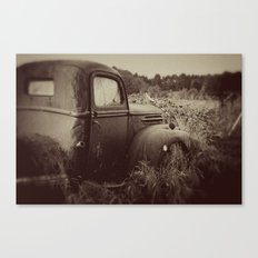 The Past Canvas Print