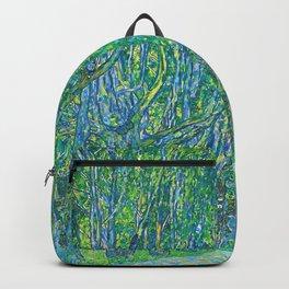 Gustav Klimt - Allee im Park von Schloss Kammer (new editing) Backpack