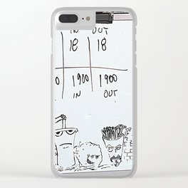 bad news Clear iPhone Case