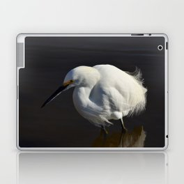 Snowy Egret I Laptop & iPad Skin