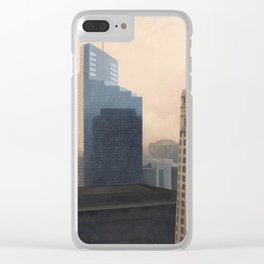 Foshay Tower Clear iPhone Case