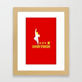 Ken Street Fighter Framed Art Print