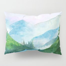 Mountain River Pillow Sham
